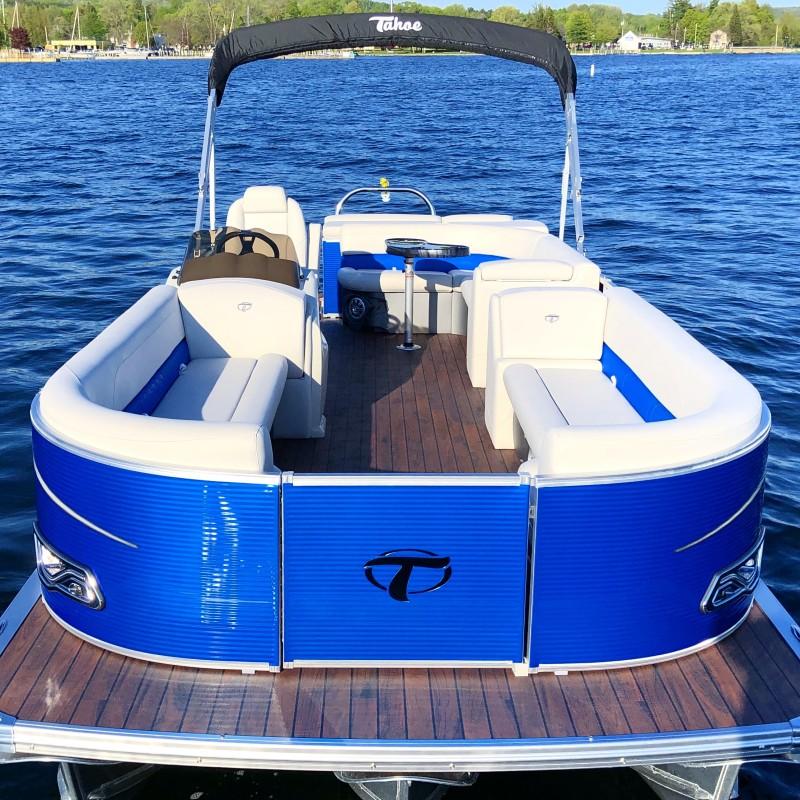 Blue Tahoe Tritoon | Boyne Watersports
