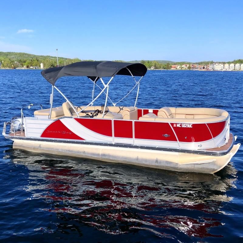 Tri Red Tritoon | Boyne Watersports