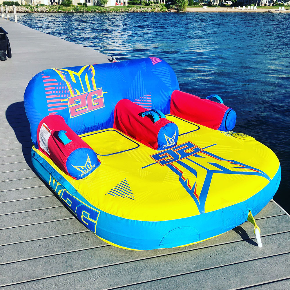 TWO PERSON TUBE Rentals | Boyne Watersports